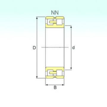 Подшипник NN 3019 KTN9/SP ISB