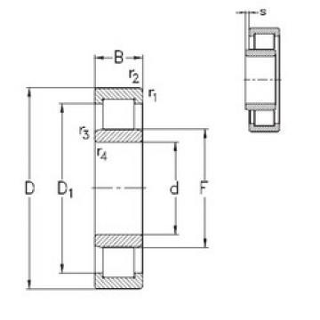 Подшипник NU2304-E-TVP3 NKE