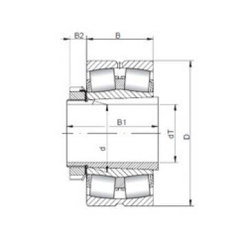 Подшипник 23056 KCW33+H3056 ISO