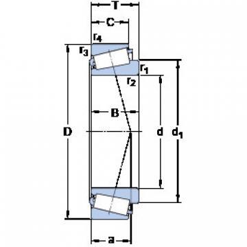 Подшипник 32010 X/QCL7CVB026 SKF