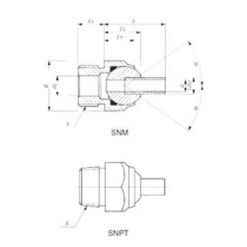 Подшипник SNPT 1/2-80 IKO