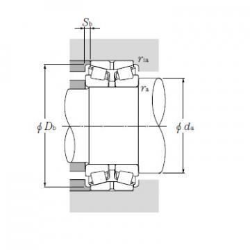 Bearing T-HM256849/HM256810DG2+A