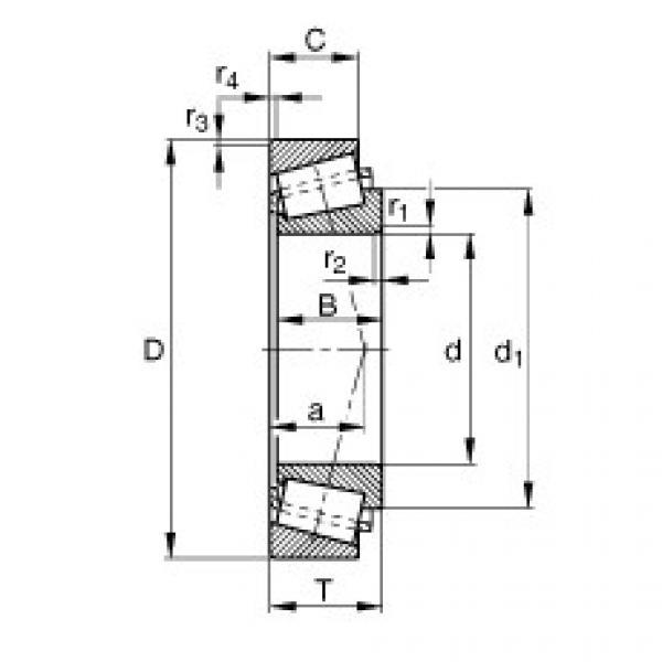 Подшипник 32015-X-XL FAG #1 image