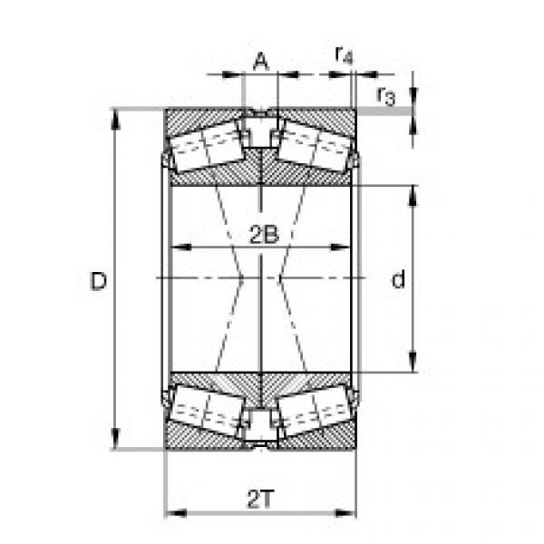 Подшипник 32017-X-XL-DF-A190-230 FAG #1 image